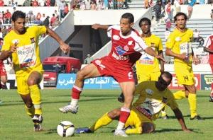 Le Wydad reçoit l'Olympique de Khouribga
