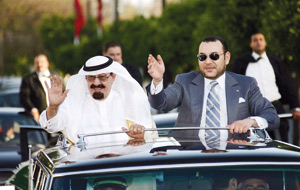 Le Roi Abdallah accorde 200 millions de dollars au TGV marocain