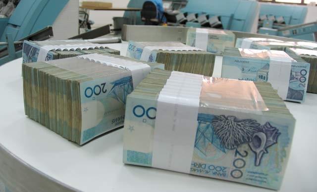 Dépréciation de 0,29 % du dirham par rapport au dollar du 12  au 18 juillet