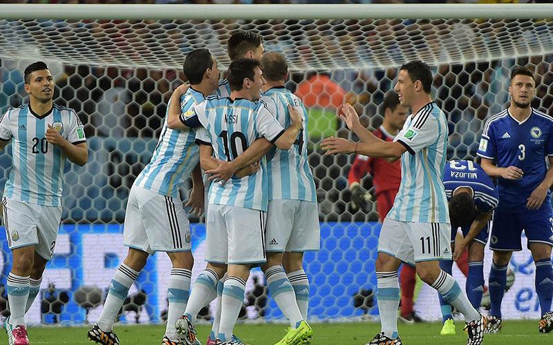 Coupe du monde 2014 : Messi et l'Argentine battent la Bosnie