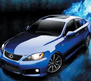 Ultra-sportives : Lexus IS-F : Encore plus puissante qu'une M3
