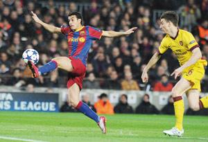 Barcelone enterre encore le rêve européen d'Arsenal
