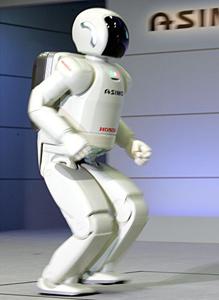 High-tech : Le robot Honda Asimo fait ses premiers pas en Europe