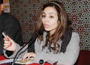 Asmae El Moudir, une jeune artiste talentueuse