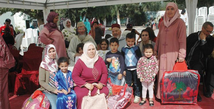 Opérations de mécénat: L'association Zaouia Al Khadra fait escale à Agadir