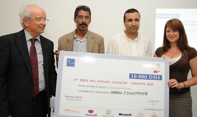 Remise des prix du concours «Assoclic Maroc 2012»