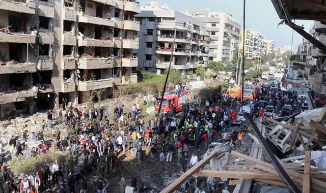 Attentat devant l'ambassade d'Iran à Beyrouth:  au moins 22 morts
