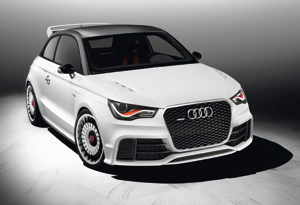 Audi A1 Clubsport Quattro : Petits anneaux, gros attirail