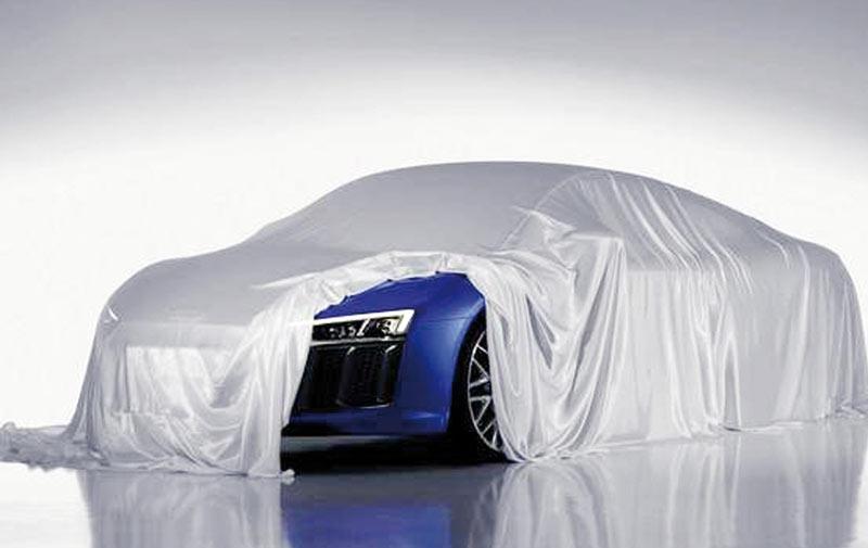 L'Audi R8 s'éclairera au laser