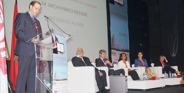 """A une année de l échéance de la stratégie Maroc Numeric 2013 : L entreprise numérique au cÅ""""ur  des deuxièmes Assises de l Ausim"""