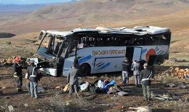 Accident d'autocar près d'Essaouira : le bilan porté à 13 morts