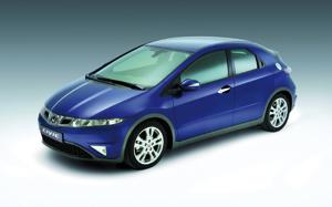 Honda Civic 5 portes : Inspirée par Goldorak