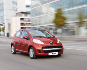 Peugeot 107 : Le lionceau est en ville
