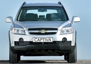 Chevrolet Captiva : Capteur d'attention