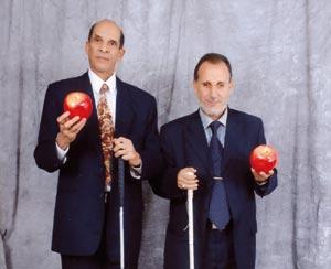 Mohamed Haddani et Mohamed Elofiri : Deux candidats non-voyants aux législatives