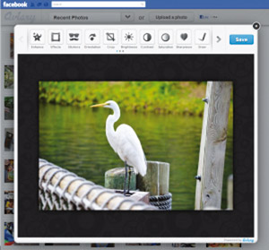 Un bon outil pour…Retoucher vos photos directement dans Facebook
