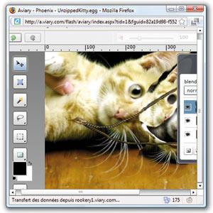 Aviary, la retouche d'images en ligne