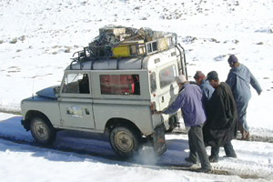 Tadla-Azilal : la vague de froid menace les habitants de la région