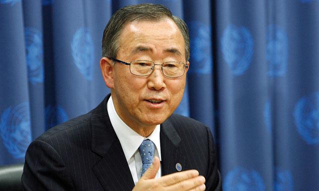 Discussions au sein du Conseil de sécurité sur le mandat  de la Minurso : Ban Ki-moon répond à Moukharik