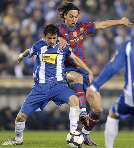 Le Barça freiné, le Real peut revenir à un point