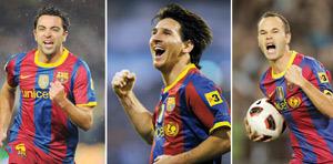 Football : Espagne, invincible Barça