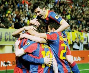 Championnat d'Espagne : Le Real fauché à domicile, le Barça vole vers le titre