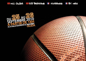 Oujda : tournoi international de basket-ball