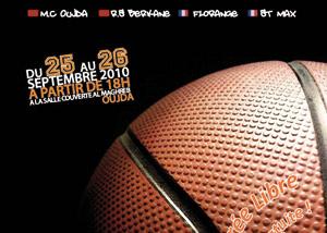 Oujda : tournoi international de basket-ball