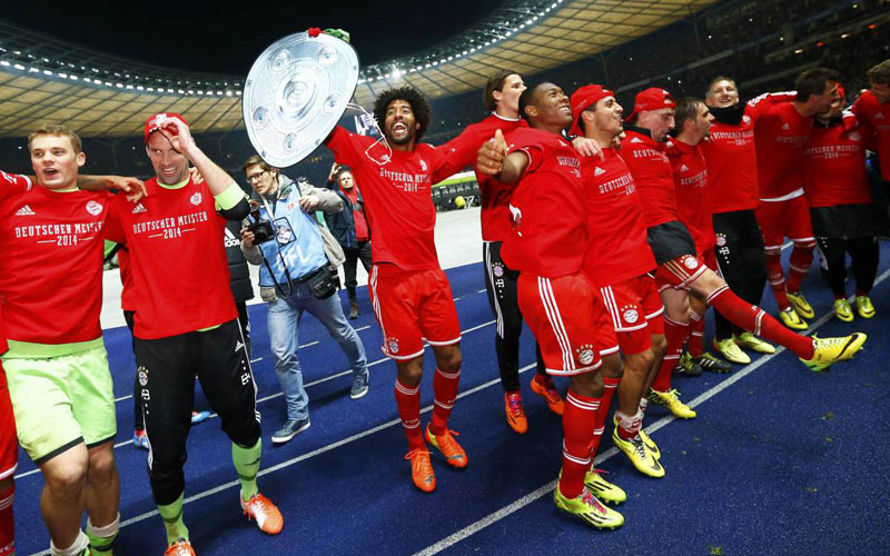 Bayern Munich : Plus d'un million de maillots vendus, la saison dernière !