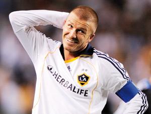 AC Milan: David Beckham ne fêterait pas un but contre MU