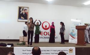 Cérémonie de clôture des «Classes Ecol'Eau» dans la ville de Tanger