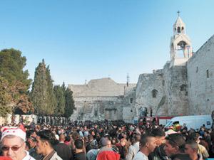 Palestine : Bethléem fête Noël en réitérant son espoir de la paix