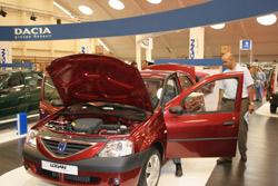 Tec'Auto 2005 : Logan à l'honneur
