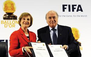 Afrique du Sud : le Ballon d'Or et le joueur Fifa ne feront plus qu'un