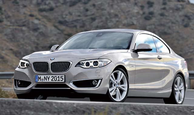 BMW Série 2 Coupé : Les tout premiers détails techniques