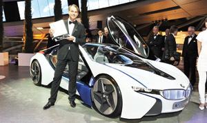 BMW Vision EfficientDynamics : primé aux «Louis Vuitton Awards»