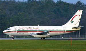Atterrissage d'urgence d'un avion de la RAM à l'aéroport d'Amsterdam