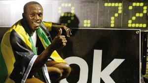 Usain Bolt satisfait de ses deux sorties en relais