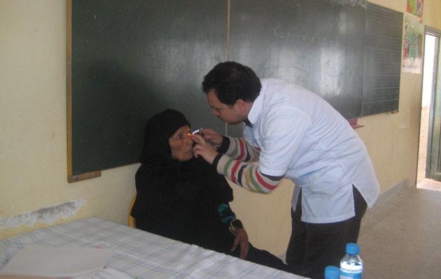 Boujdour : 300 bénéficiaires d une campagne médicale