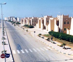 Boujdour : Le logement sur de bons rails