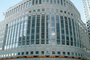 La Bourse de Londres en chute