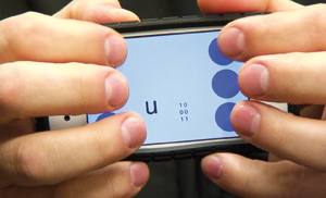 Brailletouch : Une application pour aider les malvoyants à rédiger sur écrans tactiles