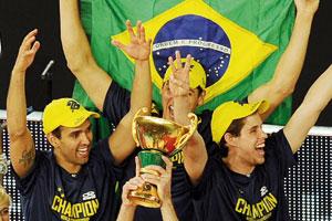 Volley-ball : le Brésil champion du monde pour la 3e fois de suite