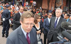Paris, caisse de résonance à l'attentat de Marrakech