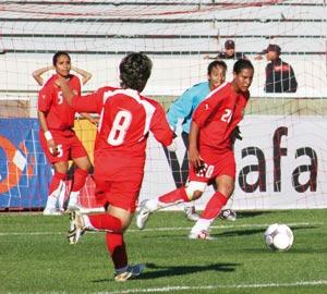L'équipe nationale en stage de présélection