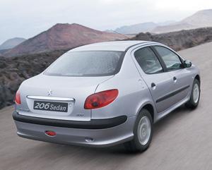 Nouveauté nationale : Peugeot 206 Sedan : Pour un nouveau départ