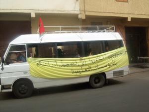 Beni Mellal : une caravane pour lutter contre l'abandon scolaire