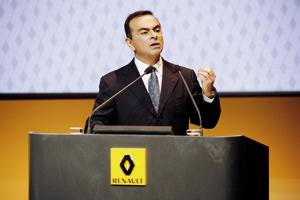 Ghosn promet un retour de Renault dans le vert «au plus tard en 2011»
