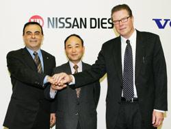 Automobile : Nissan cède sa filiale poids lourds à Volvo