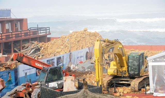 Une houle de six à sept mètres provoque des dégâts au port  de Casablanca
